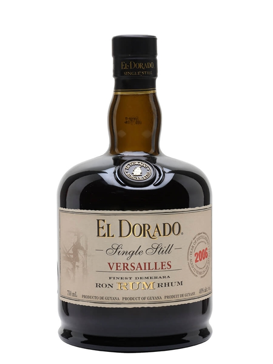 El Dorado Versailles VSG 2006 Single Traditional Pot Rum