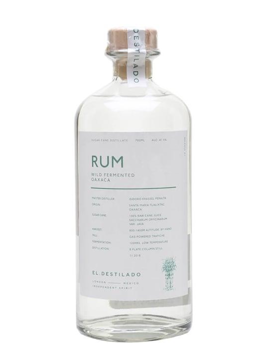 El Destilado Wild Fermented Oaxaca Rum