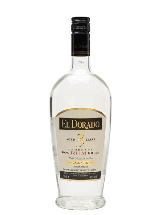 El Dorado 3 Year Old White Rum Single Modernist Rum