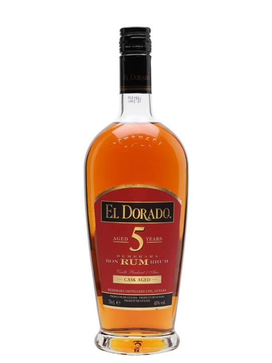 El Dorado 5 Year Old Gold Rum Single Modernist Rum
