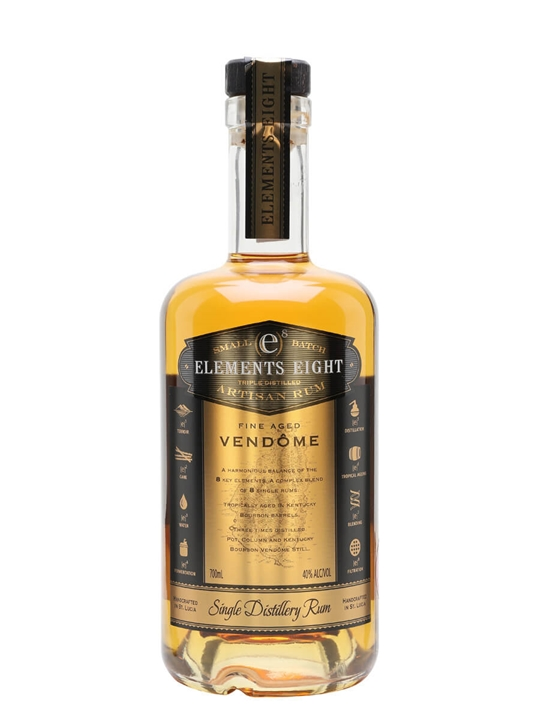 Elements Eight Vendome Gold Rum Single Traditional Blended Rum