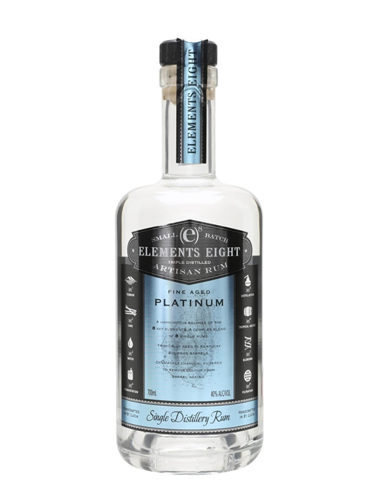 Elements Eight Platinum Rum Blended Modernist Rum