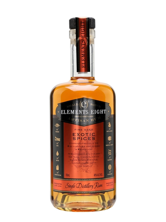 Elements Eight Exotic Spiced Rum