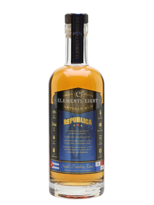 Elements Eight Republica / 5 Year Old Blended Modernist Rum