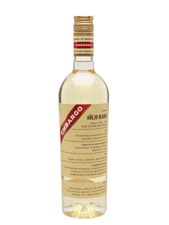 Embargo Anejo Blanco Rum Blended Modernist Rum