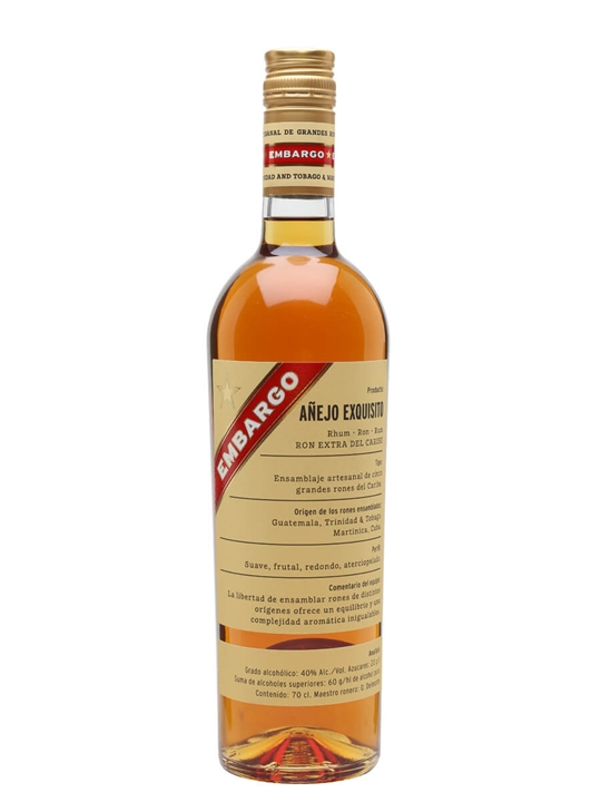 Embargo Exquisito Rum Blended Modernist Rum