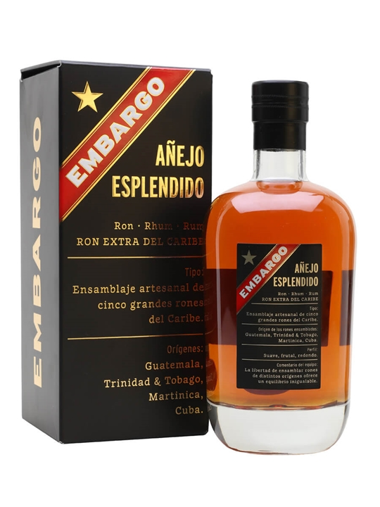 Embargo Esplendido Rum Blended Modernist Rum