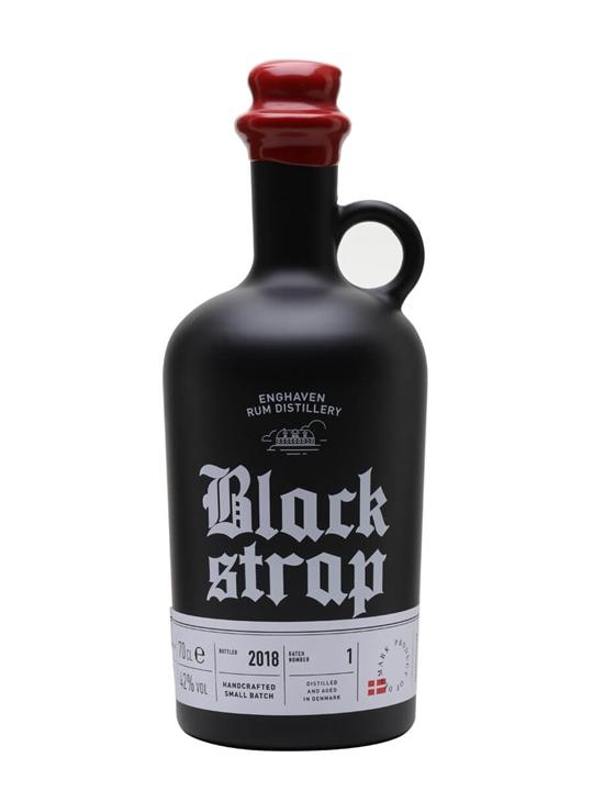 Enghaven Black Strap Rum Blended Modernist Rum