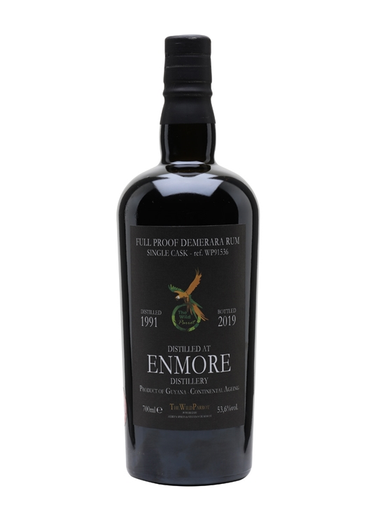 Enmore 1991 / The Wild Parrot Single Traditional Column Rum