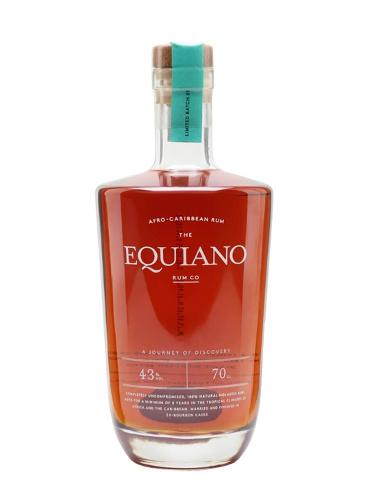Equiano Rum Blended Traditionalist Rum