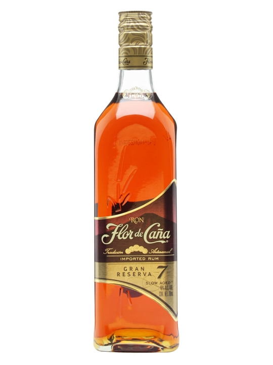 Flor de Cana 7 Year Old Grand Reserva Rum Single Modernist Rum