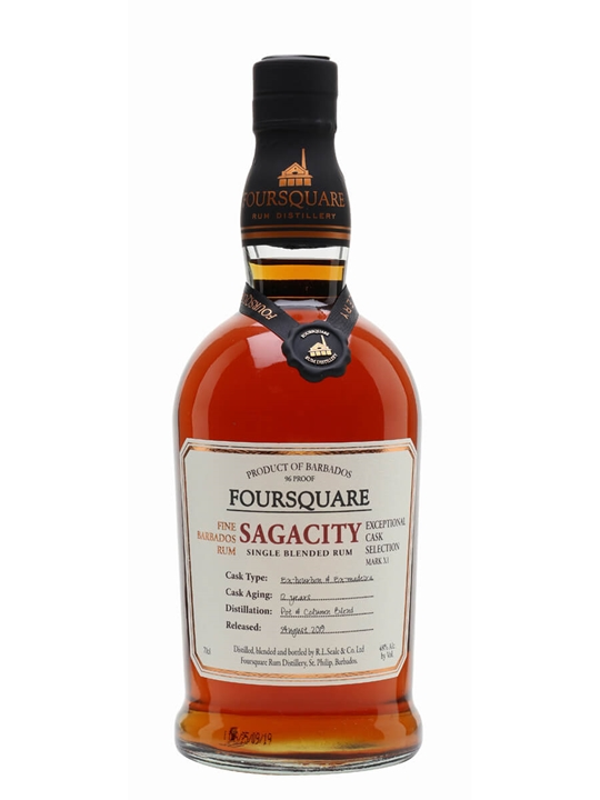 Foursquare Sagacity Single Traditional Blended Rum