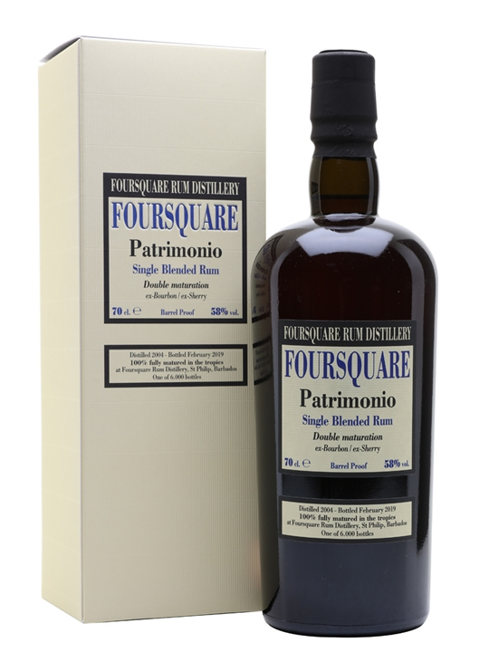 Foursquare Patrimonio 2004 / 14 Year Old Rum