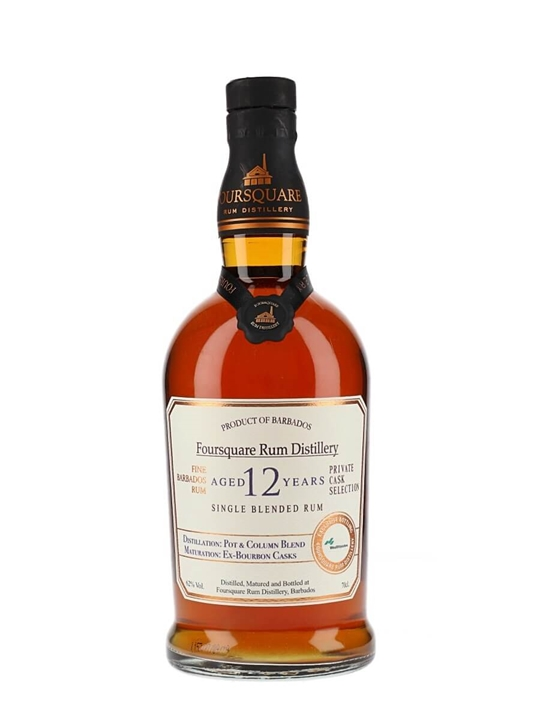 Foursquare 12 Year Old / Bourbon Cask / Wealth Solutions