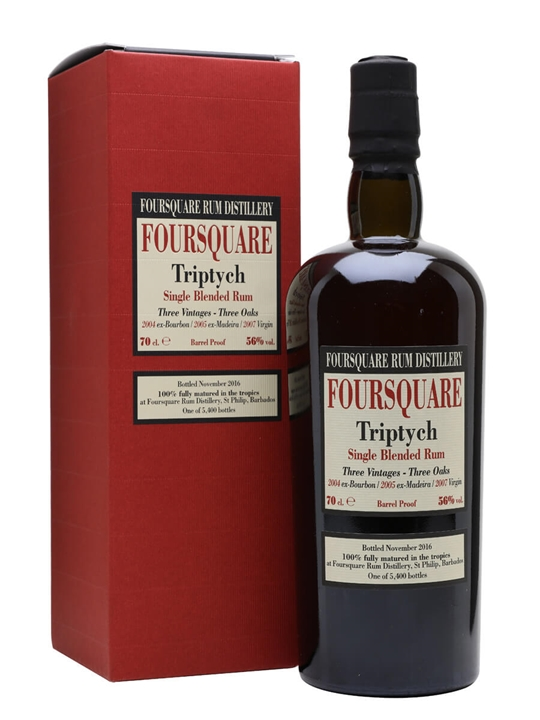 Foursquare Triptych Single Traditional Blended Rum
