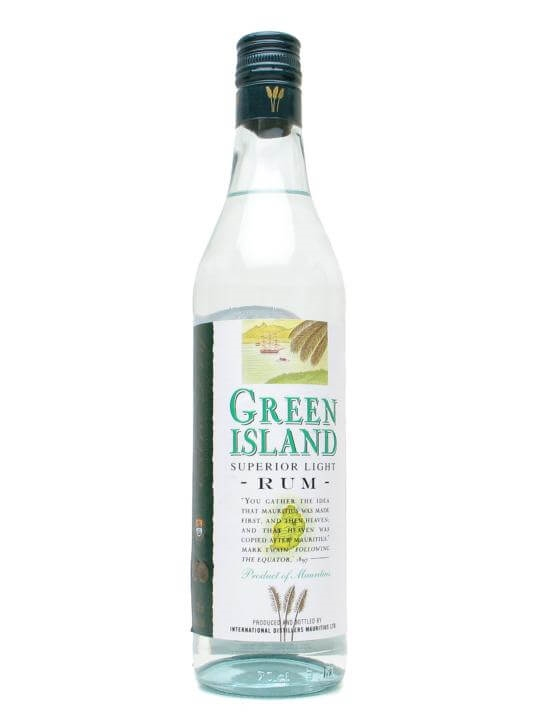 Green Island Superior Light Rum Single Modernist Rum