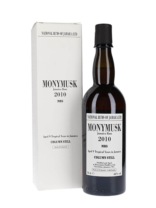 Monymusk 2010 MBS / Habitation Velier Single Traditional Pot Rum