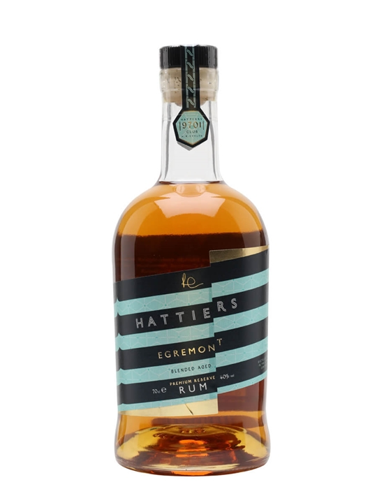 Hattiers Egremont Rum Blended Traditionalist Rum