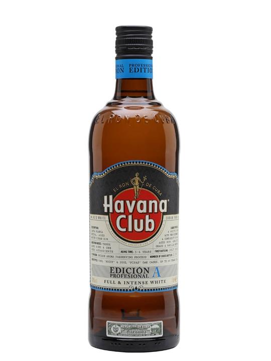 Havana Club Professional Edition A Single Modernist Rum