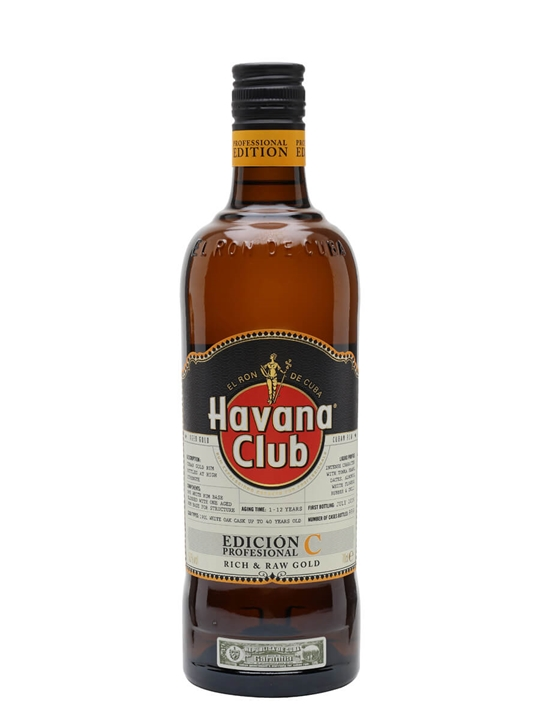 Havana Club Professional Edition C Single Modernist Rum