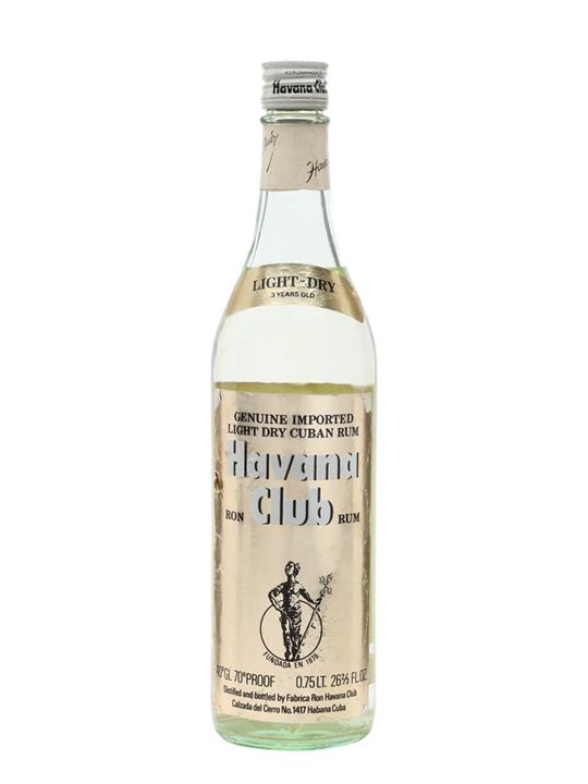 Havana Club Rum 3 Year Old Light Dry / Bot.1970s