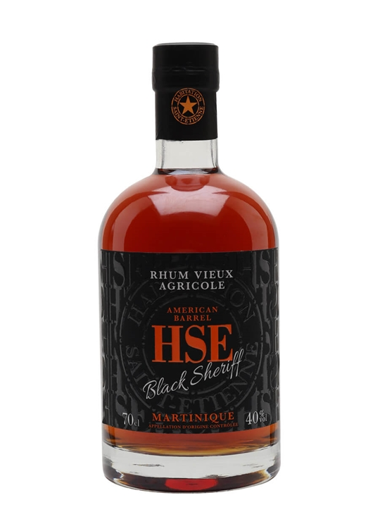 HSE Rhum Black Sheriff Single Traditional Column Rum