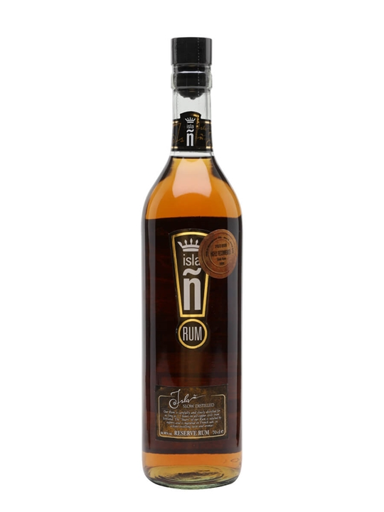 Isla Ñ Reserve Gold Rum Single Traditional Column Rum