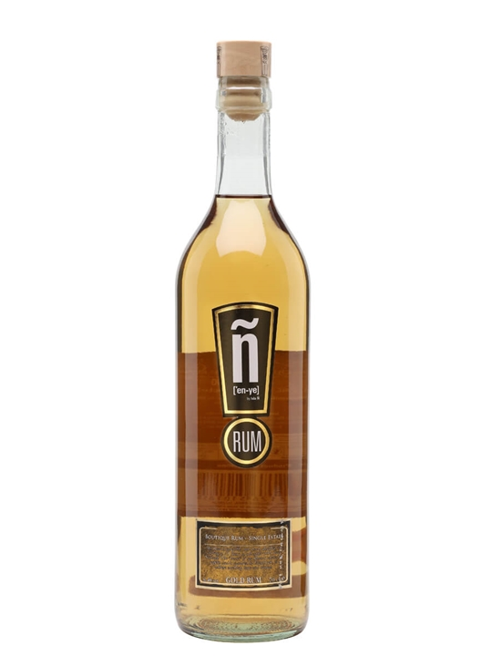 Isla Ñ Gold Rum Single Traditional Column Rum