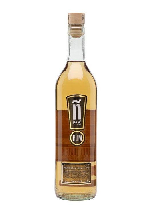 Isla Ñ Gold Rum Single Traditional Column Rum