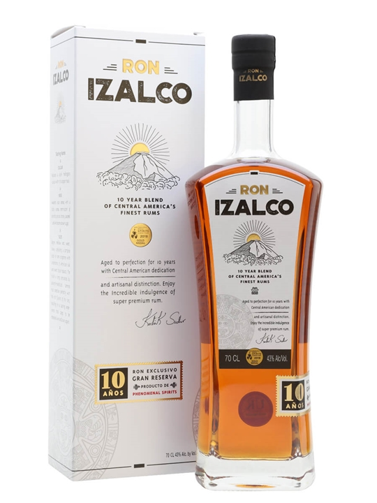 Ron Izalco 10 Years Old Blended Modernist Rum
