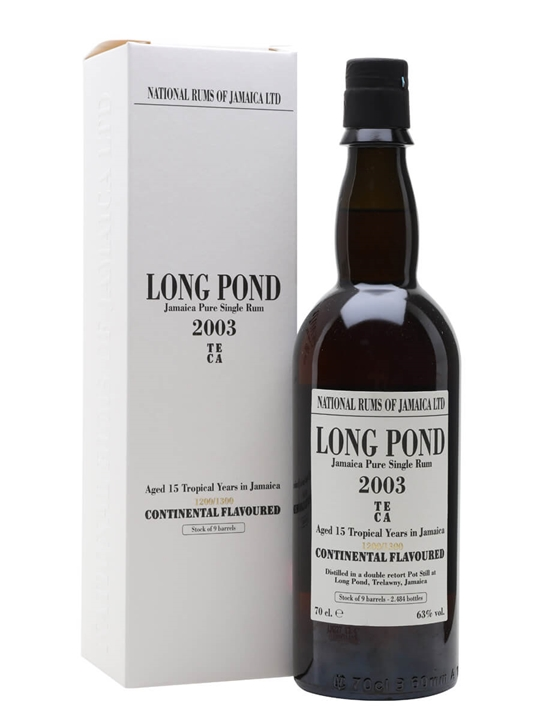 Long Pond TECA 2003 / Jamaican Stills Single Traditional Pot Rum
