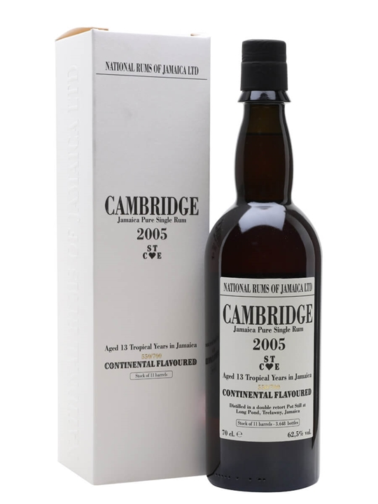 Cambridge STCE 2005 / Jamaican Stills Single Traditional Pot Rum