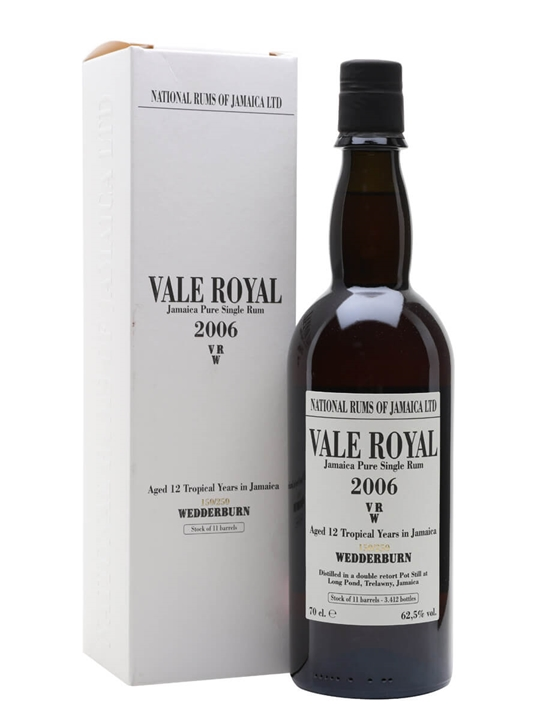 Vale Royal VRW 2006 / Jamaican Stills Single Traditional Pot Rum