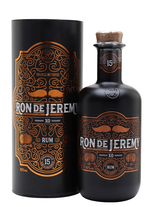 Ron de Jeremy 15 Year Solera XO Rum Blended Modernist Rum