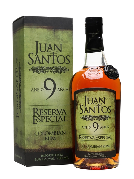 Juan Santos Reserva Especial 9 Year Old Single Modernist Rum