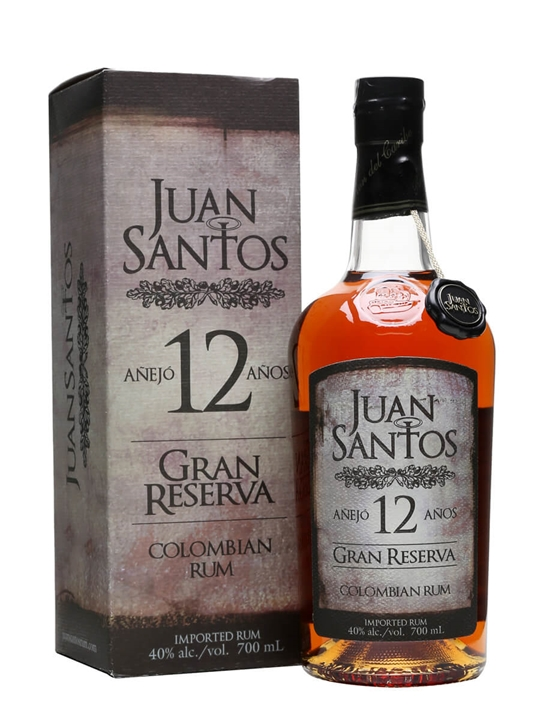 Juan Santos Gran Reserva 12 Year Old Single Modernist Rum