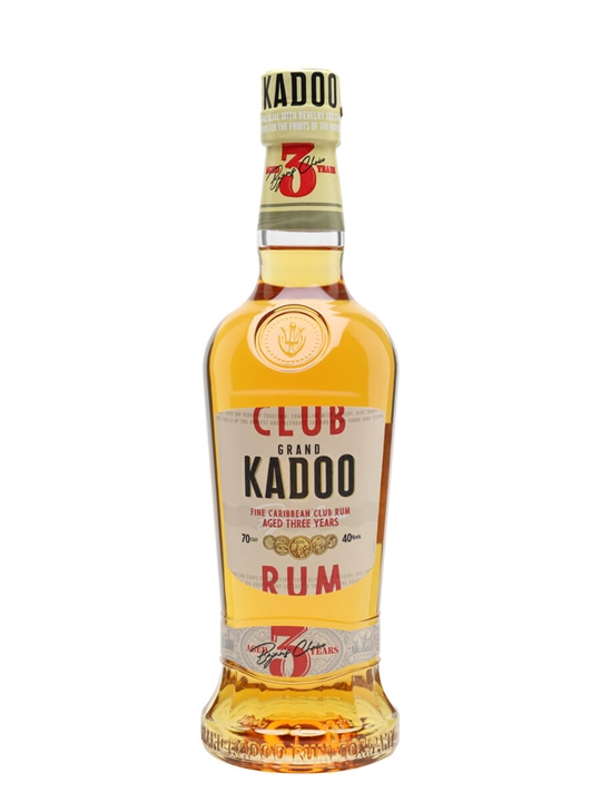 Grand Kadoo Club 3 Year Old Rum Single Traditional Blended Rum