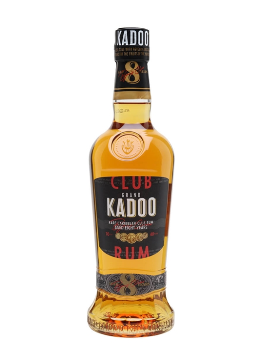 Grand Kadoo Club 8 Year Old Rum Single Traditional Blended Rum
