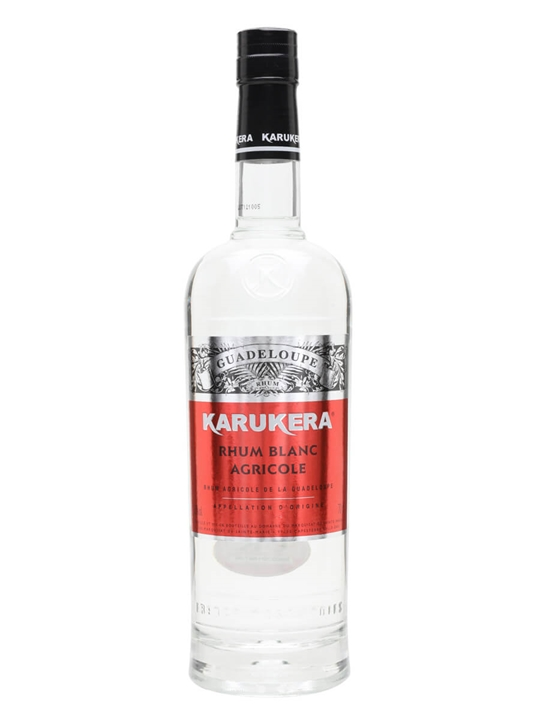 Rhum Karukera Blanc Canne Bleue NV Single Traditional Column Rum