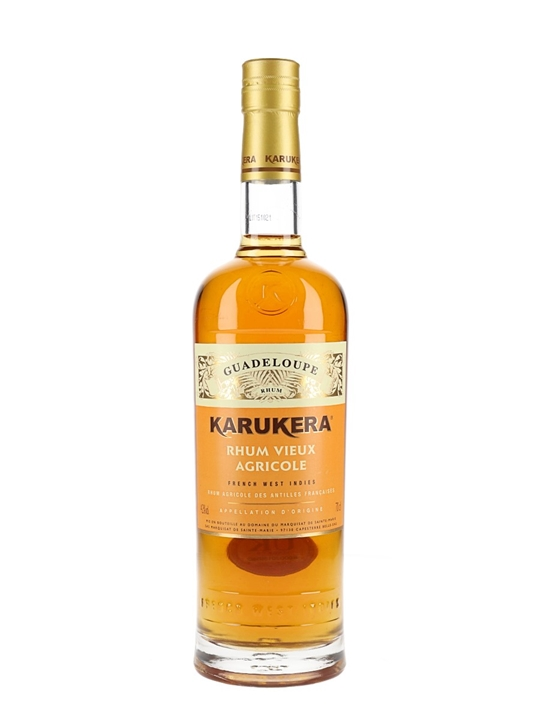 Rhum Karukera Rhum Vieux Agricole Single Traditional Column Rum