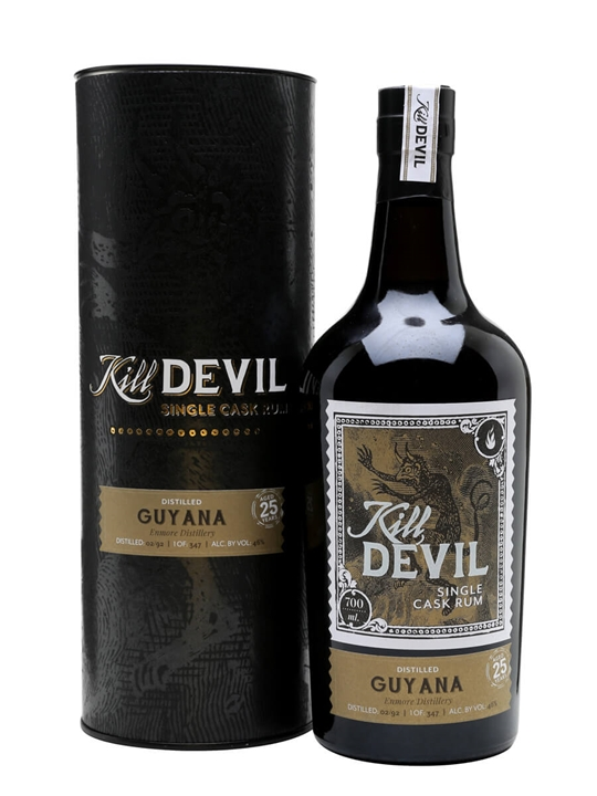 Guyana Enmore Rum 1992 / 25 Year Old / Kill Devil