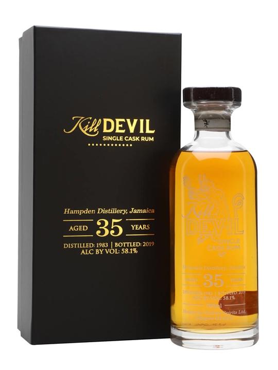 Hampden 35 Year Old Rum / Kill Devil