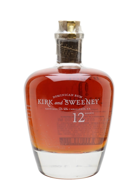 Kirk & Sweeney 12 Year Old Dominican Rum Blended Modernist Rum