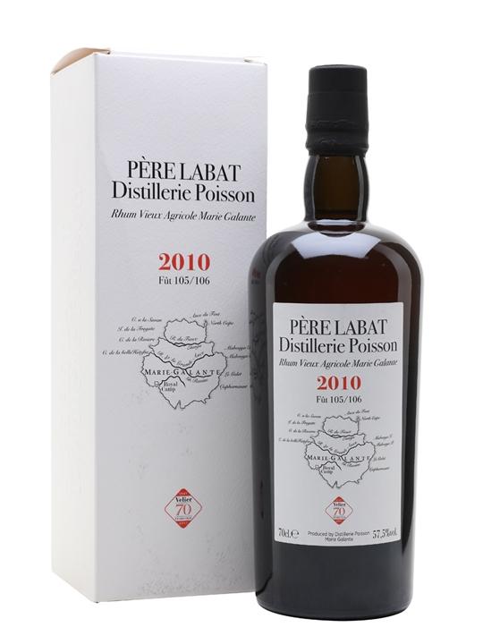Pere Labat 2010 Rum / Velier 70th Single Traditional Column Rum