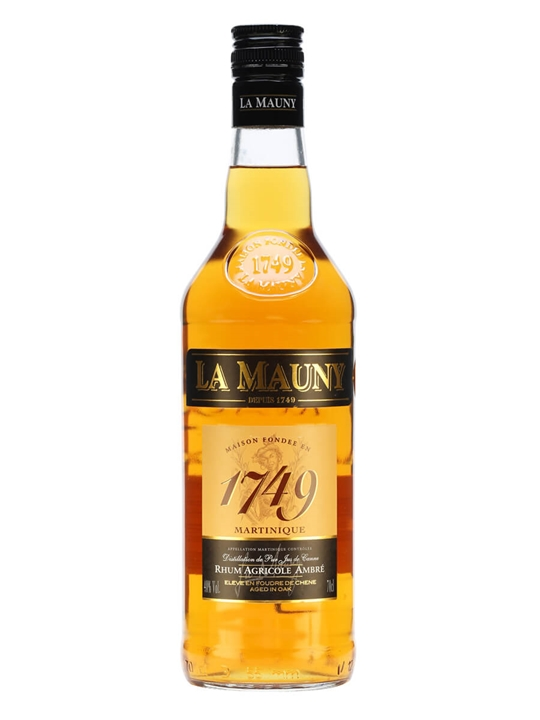 La Mauny 1749 Ambre Single Traditional Column Rum