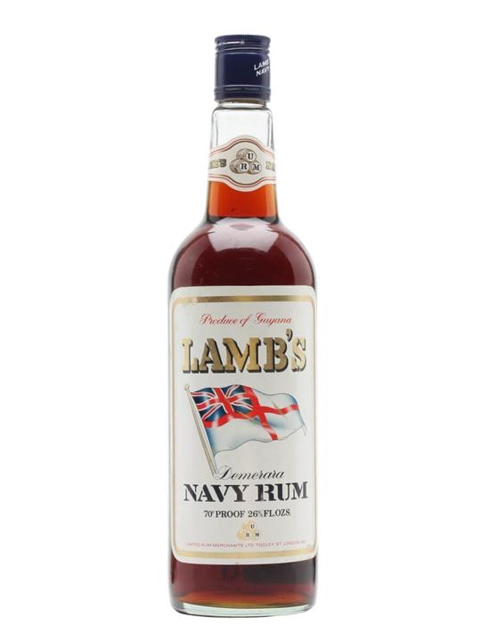 Lamb's Demerara Navy Rum / Bot.1970s