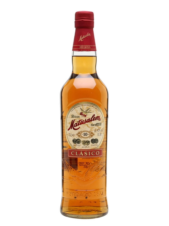 Matusalem Clasico Rum / 10 Year Old Blended Modernist Rum