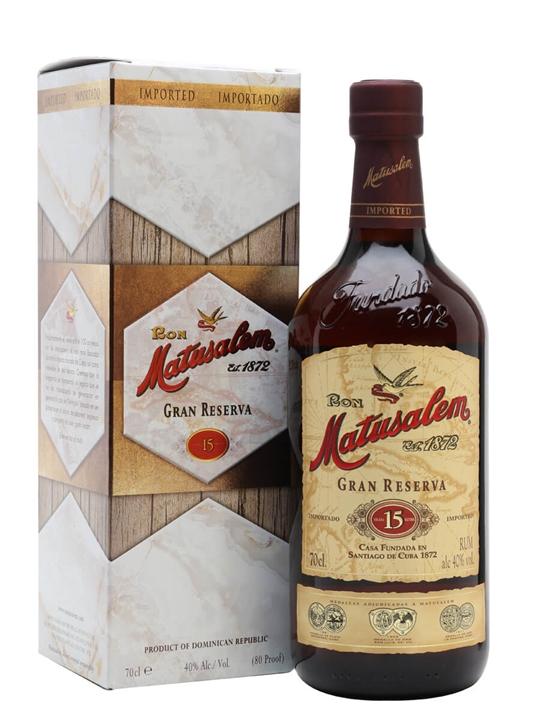 Matusalem Rum 15 Gran Reserva Blended Modernist Rum