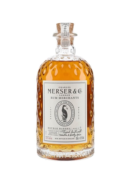 Charles Merser Double Barrel Rum Blended Modernist Rum