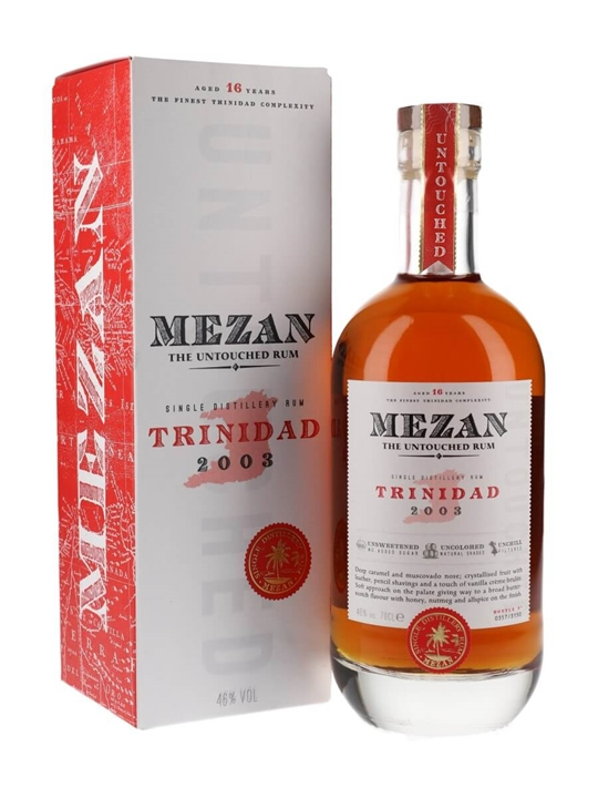 Mezan Trinidad 2003 Rum Single Modernist Rum